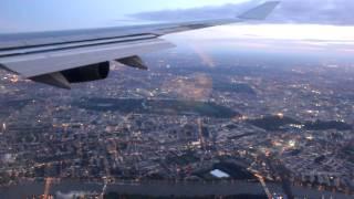 Download Landing at London Heathrow Airport (Sunrise) Video