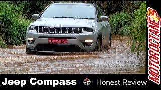 Download जीप कम्पास २०१७ - Jeep Compass 2017 India Review - Off road and on road Driving Video