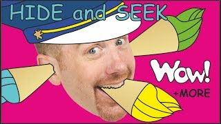 Download Hide and Seek + Ice Cream + MORE Stories for Kids | Learn English | Steve and Maggie Wow English TV Video