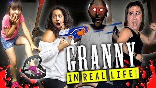 Download Granny Horror Game in Real Life with BEAR TRAPS and TRANQUILIZER! Video