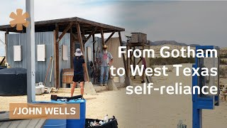 Download From Gotham to isolated, code & debt-free West Texas estate Video