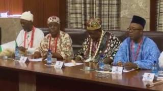 Download President Buhari Receives South East traditional Rulers Video