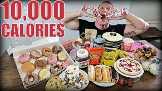 Download 10,000 CALORIE DESSERT CHALLENGE | Epic Cheat Day | Man vs Food Video