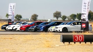 Download 1/2 Mile Top Speed Shootout! - Tuner Battle Week 2014 Ep. 3 Video