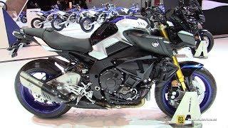 Download 2018 Yamaha MT-10 SP - Walkaround - 2017 EICMA Milan Motorcycle Exhibition Video