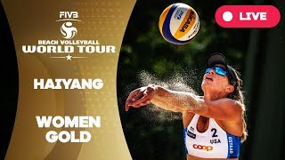 Download Haiyang 3-Star - 2018 FIVB Beach Volleyball World Tour - Women Gold Medal Match Video