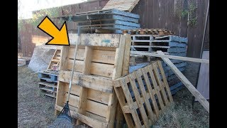 Download People Turn Pallets Into Cool Things But THIS, This Is Brilliant ..!! Video