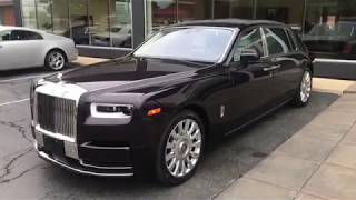 Download 2018 Rolls Royce Phantom Ext Belladonna Purple Int Arctic White:Purple Video