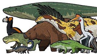 Download Prehistoric Life - Animated Size Comparison Video