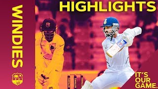 Download West Indies Battle as Rahane & Kohli Build Lead | Windies vs India 1st Test Day 3 2019 - Highlights Video