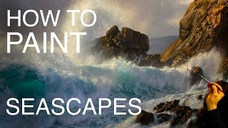 Download How to paint a seascape: EPISODE TWO | How to paint waves and water Video