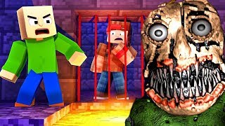 Download 100% IMPOSSIBLE TO ESCAPE NIGHTMARE BALDIS BASICS PRISON IN MINECRAFT TROLL + ROLEPLAY! Video
