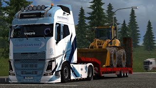 Download [ETS2 V1.27] Volvo FH16 2013 by ohaha V22 #3 | 1080p 60FPS | GTX 980ti | Myhael Video