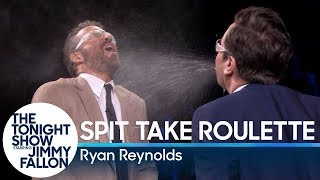 Download Spit Take Roulette with Ryan Reynolds Video