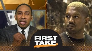 Download Stephen A. Smith strongly reacts to Kanye West's slavery comments on TMZ | First Take | ESPN Video