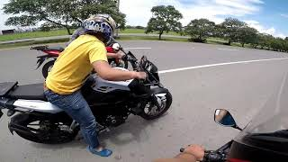 Download Gsx r150 vs pulsar ns 200 vs pulsar as 200 Video