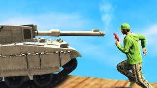Download JELLY VS TANK! WHO WILL WIN!? (GTA 5 Funny Moments) Video