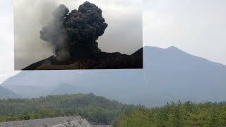 Download Sakurajima eruption! Took me 12 hours to learn how to stabilise it but it was worth it! Video