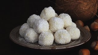 Download White Chocolate and Coconut Truffles Recipe Video