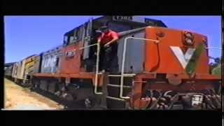 Download Steam locomotives 622's whistle on Yorke Peninsula Rail diesel T387. 8-1-1996. Video