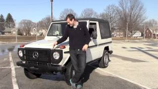 Download Reviewing a 1987 Mercedes G-Wagen Video