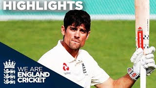 Download Cook Hits Emotional Century In Final Ever Innings | England v India 5th Test Day 4 2018 - Highlights Video
