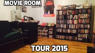 Download New Blu-Ray Shelves & Movie Room Tour 2015 Video