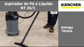 Download Aspirador de Pó e líquidos - NT 20/1 - Entrega Técnica Video