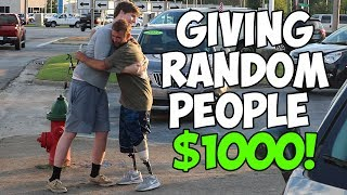 Download Giving Homeless People $1,000 (Not Clickbait) Video