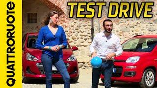 Download Fiat Panda vs Hyundai i10: prova su strada | Quattroruote Video