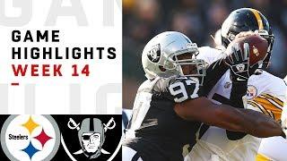 Download Steelers vs. Raiders Week 14 Highlights | NFL 2018 Video