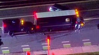 Download Armed Suspect Who Hijacked UPS Delivery Truck Shot, Killed in San Jose Video