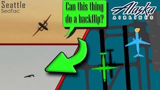 Download STOLEN DASH-8 MAKES AN UNAUTHORIZED TAKEOFF at SeaTac Video