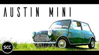 Download AUSTIN MINI SEVEN 850 1967 - A playful rascal! - Test drive in top gear   SCC TV Video
