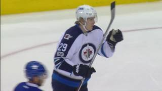 Download Laine gets 29th goal of the season with a rocket against Maple Leafs Video