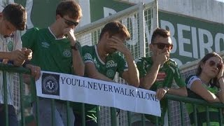 Download Fans Mourn the Loss of Brazilian Soccer Team Video