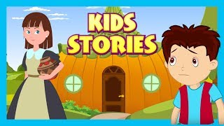 Download Kids Stories : The Lazy Girl and The Jack and The beanstalk || Animated Stories For Kids Video