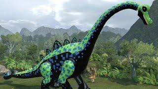 Download LEGO Jurassic World - Brachiosaurus Unlock Location + Gameplay (Skeleton & Custom Dinosaur Showcase) Video