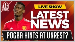Download Pogba Hints At Man Utd Unrest? Manchester United Leicester Tactics Review Video