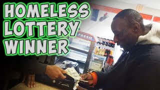 Download Homeless Lottery Winner Video