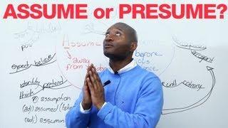 Download Assume or Presume? Video