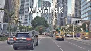 Download Driving Downtown - Miami Millionaires Row 4K - USA Video