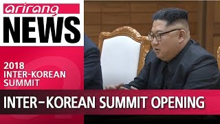 Download Inter-Korean Summit opening remarks by Moon Jae-in and Kim Jong-un Video