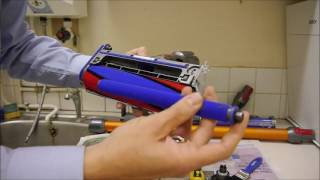 Download How to clean and maintain the Dyson V8 Cordless Vacuum Cleaner Video