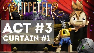 Download Puppeteer - Gameplay Story Walkthrough Part 7 - Act 3 - Curtain 1 [HD] (All That Glitters) Video