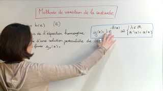 Download Exercice 4 (Equations différentielles) [06994] Video