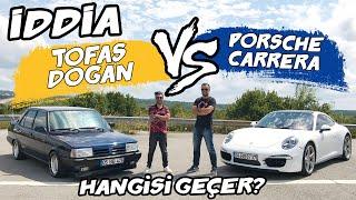 Download Doğan Kabak   İddia - Tofaş Doğan vs Porsche Carrera 4S   Burak Ertem ile Yarıştık Video