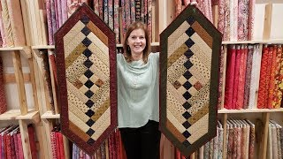 Download One for you, one for me! Friendship Braid Table Runner :)   Free Pattern + Moda Giveaway! Video