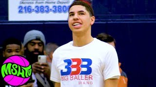 Download LaMelo Ball FULL GAME - Spire vs Garfield Heights - Lavar and Gelo in audience Video