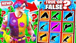 Download TRUE or FALSE TRIVIA for Guns *NEW* Fortnite Creative Mode Video